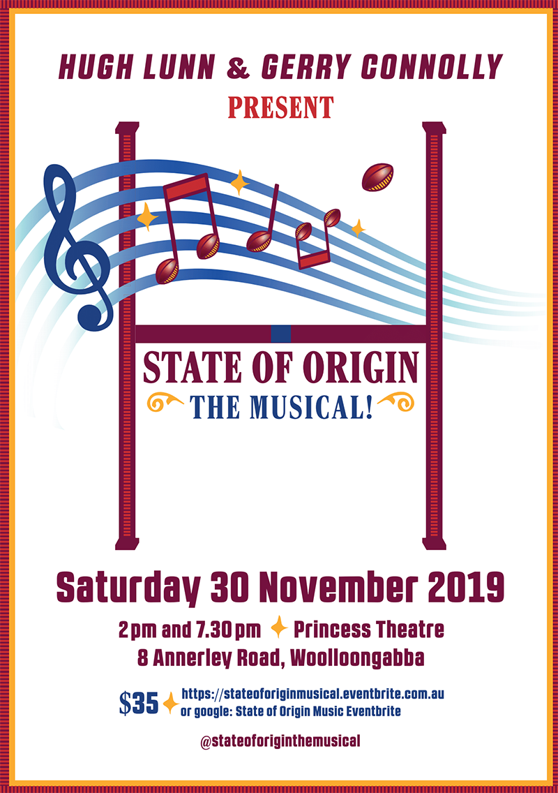 Buy tickets to State of Origin the Musical